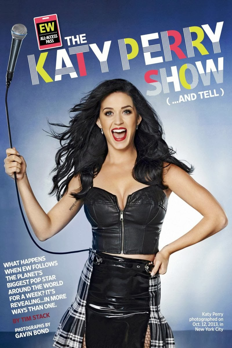Katy Perry Photos for Entertainment Weekly Magazine