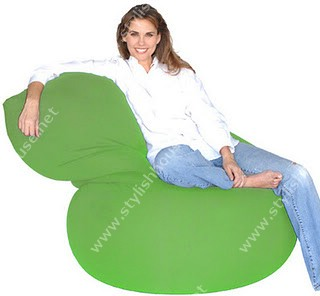 Comfort cloth bean bag seat