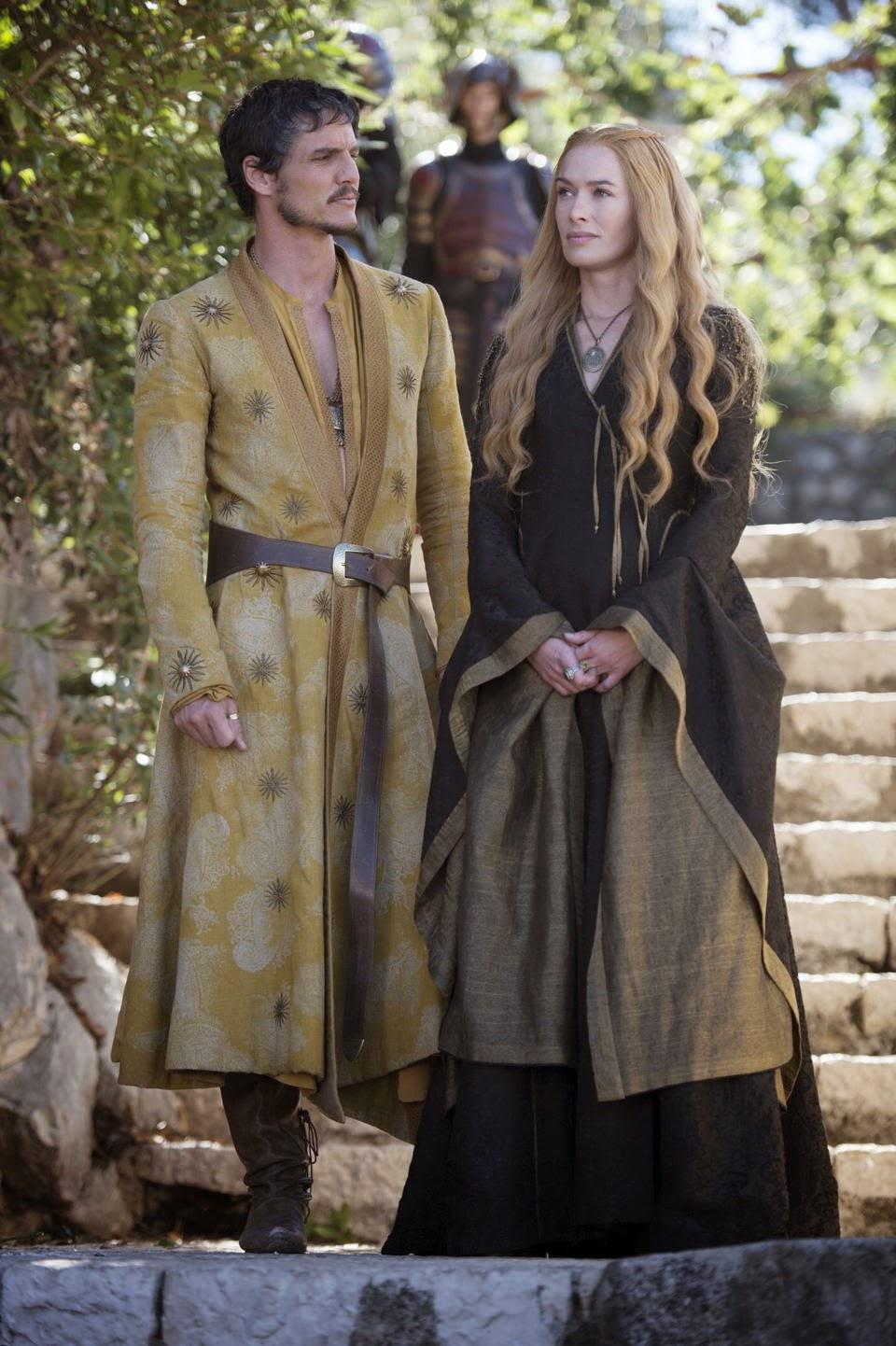 Cersey y Oberyn Martel en el episodio 4x05 de Juego de Tronos