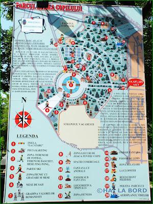 harta parc lumea copiilor bucuresti