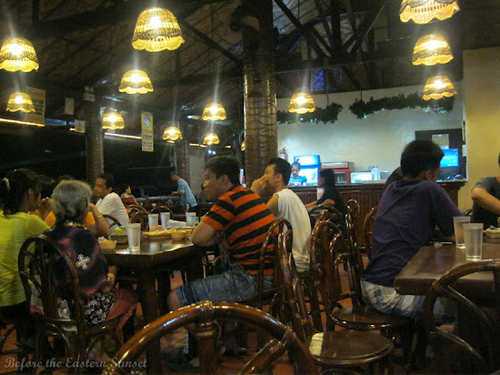 Diners in Penong's, Davao City