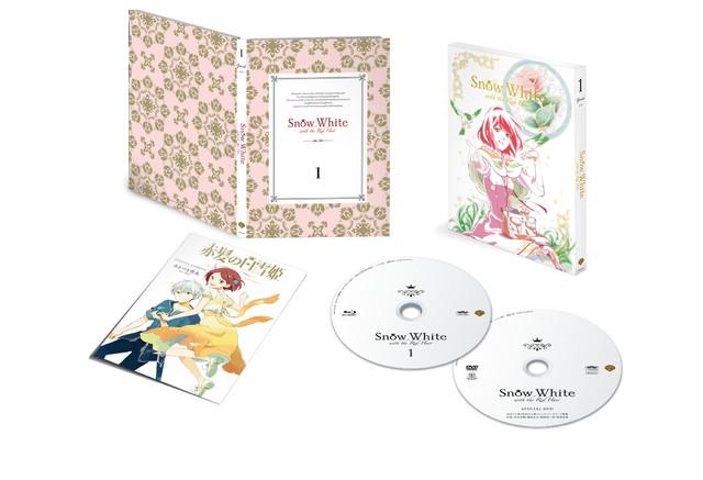Lançamento do primeiro volume do anime de Akagami no Shirayukihime em BD & DVD.