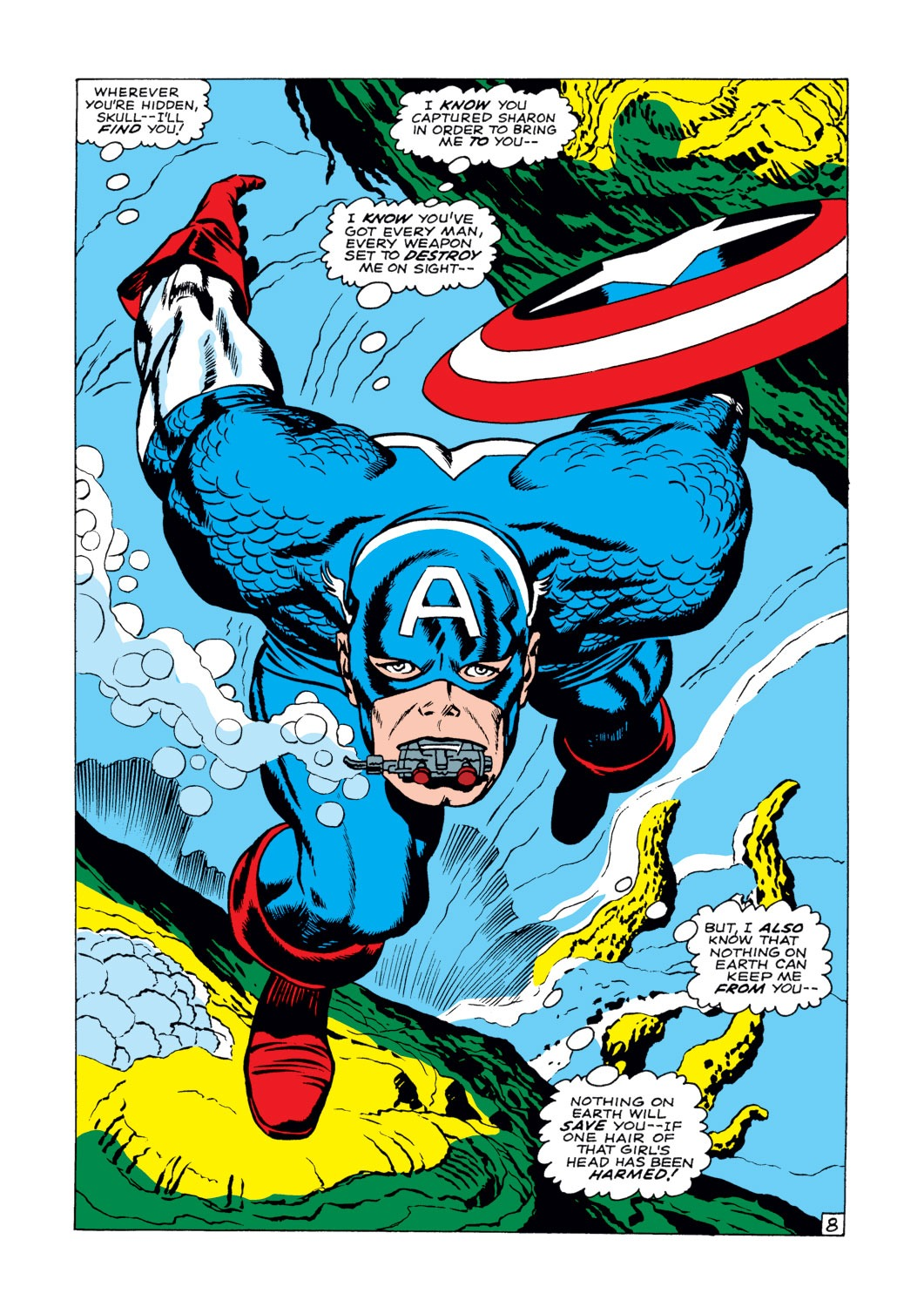 Captain America (1968) Issue #103 #17 - English 9