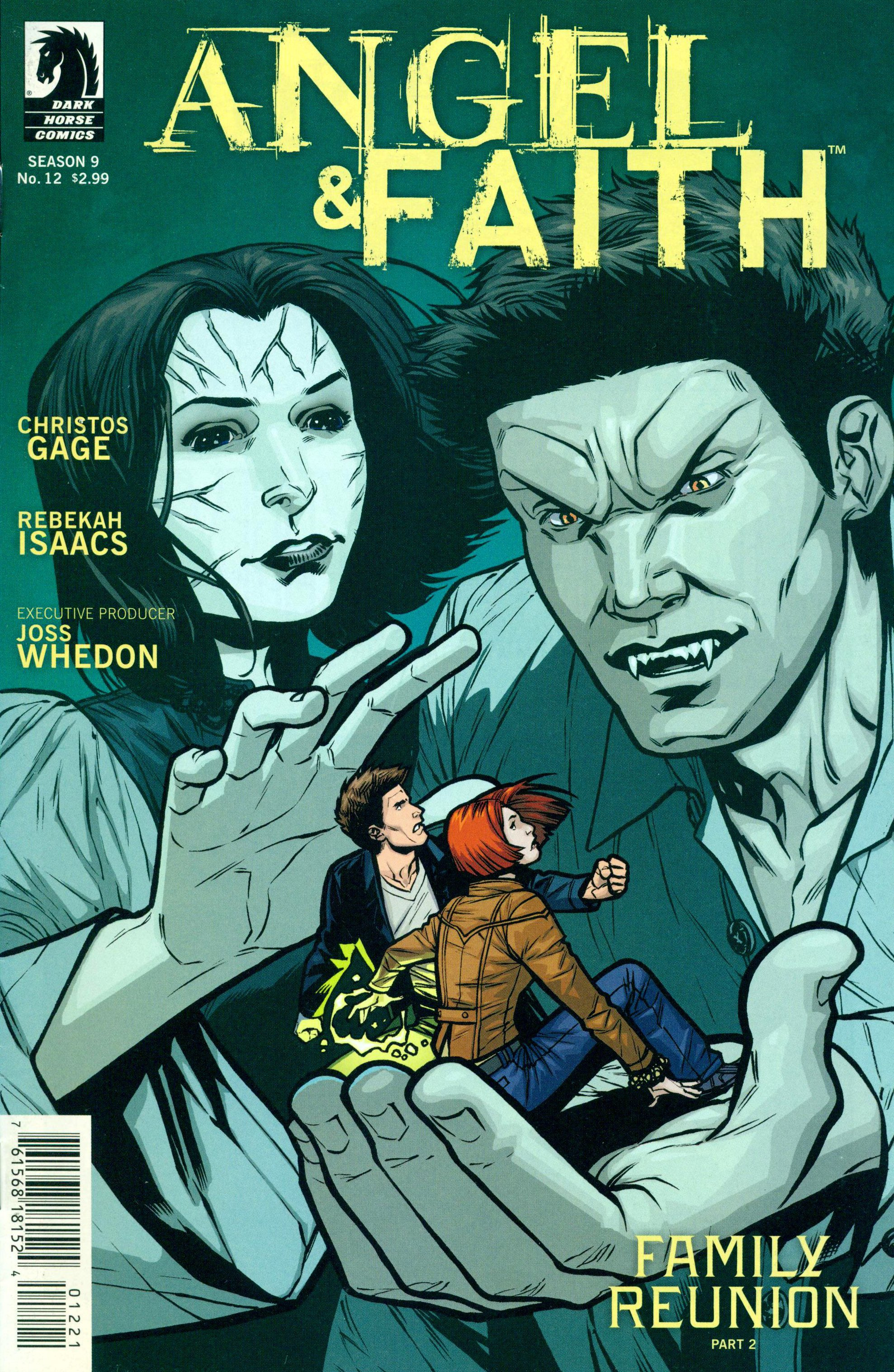 Read online Angel and Faith comic -  Issue #12 - 2