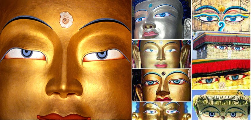 blue eye buddhist singles Among human beings, blue eyes are less common than brown eyes this is one reason that blue color contact lenses are popular here are a few facts about blue eye color you might not know: 1.