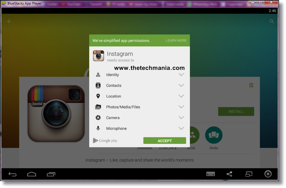 instagram on computer for windows 10