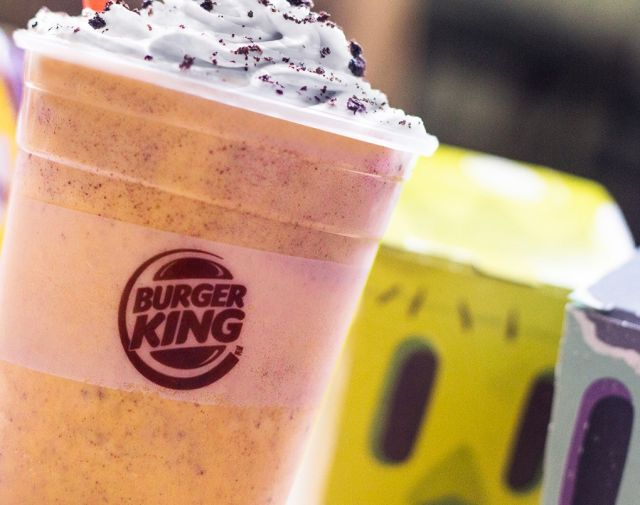 Burger King Adds Pumpkin to Oreo Shake for the Fall Brand Eating