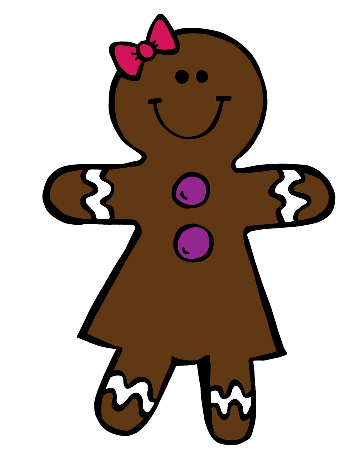 Labels: Christmas , Clipart , FREEBIE , Gingerbread