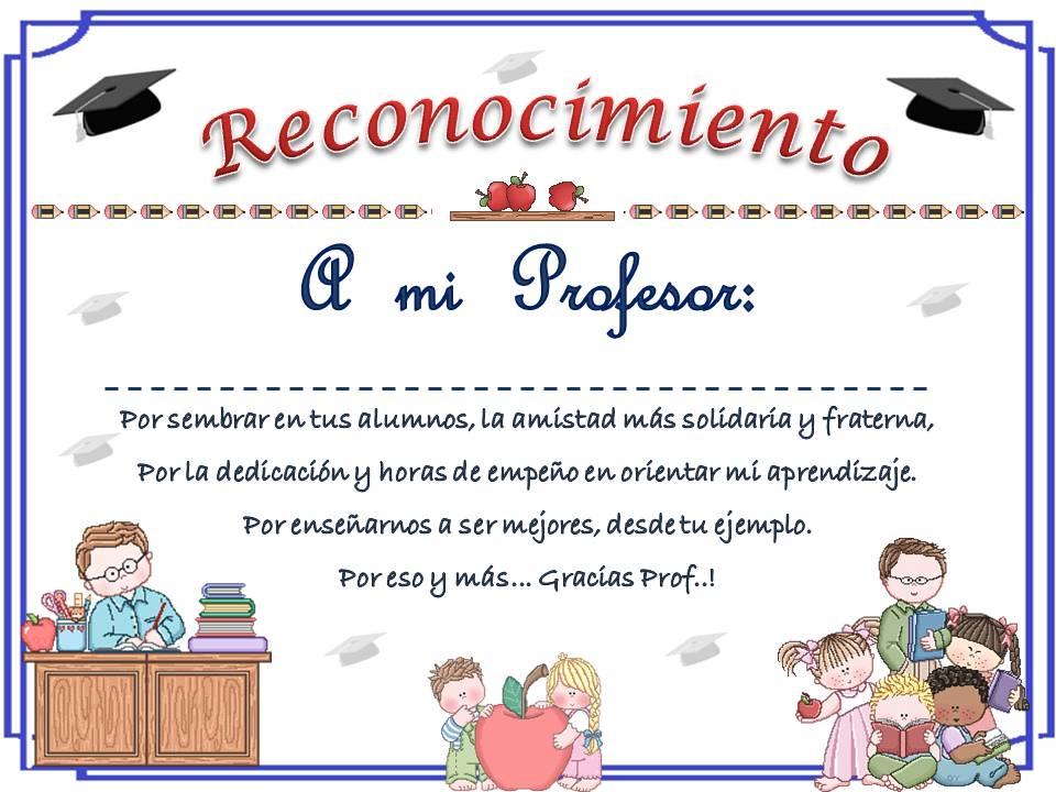 planeta escolar diplomas y reconocimientos para maestros