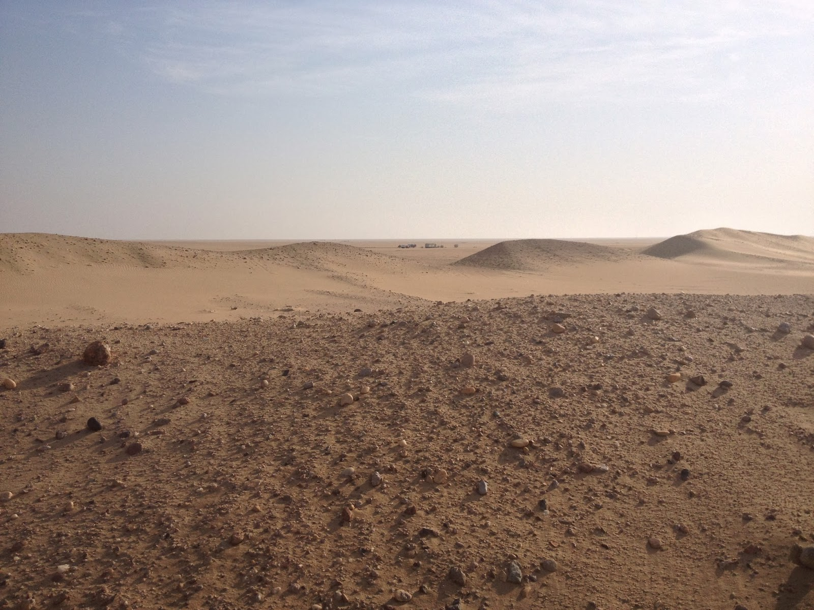 Seconlyly, The Sand Of The Kuwait Desert Isn't Consistently Smooth And  Fine In Many Parts, Its More Like Gravel There Are Plenty Of Stones And  Even Large