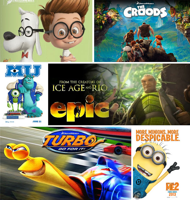 Kids Movies Line Up 2013