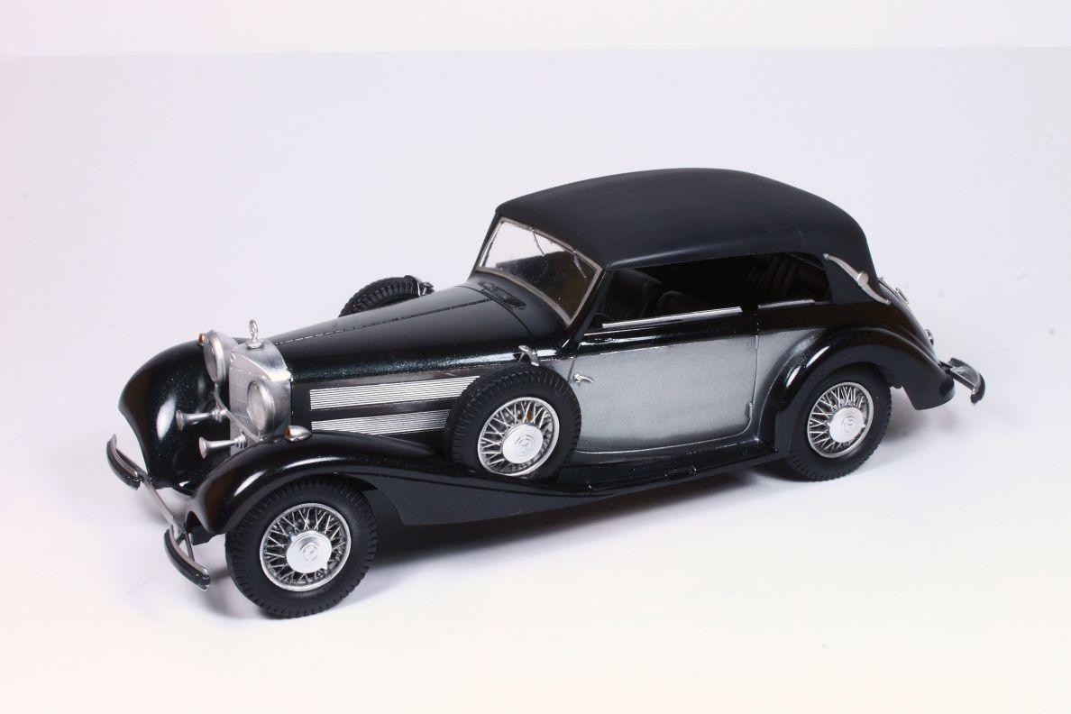 Scale modelling blog mercedes benz 540k cabriolet b mod for Carros mercedes benz