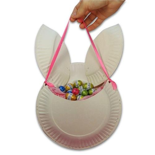 Paper Easter Baskets Crafts for Kids