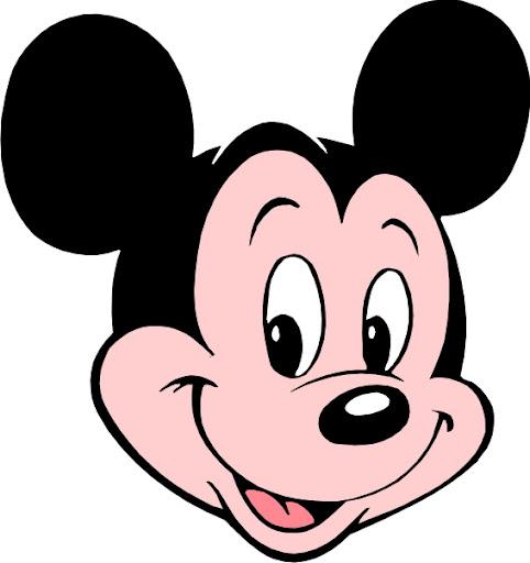 Caras mickey mouse para imprimir - Imagenes y dibujos para ...