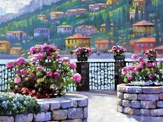 Paisajes Espatula Pinturas Rurales