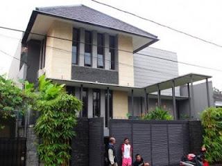 Model desain arsitektur rumah gaya minimlis