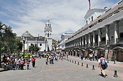 PLAZA INDEPENDENCIA EN QUITO