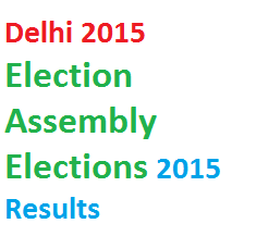 Delhi Assembly Elections 2015 Results | Delhi Elections 2015