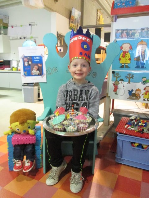 Sam wordt 6 jaar !