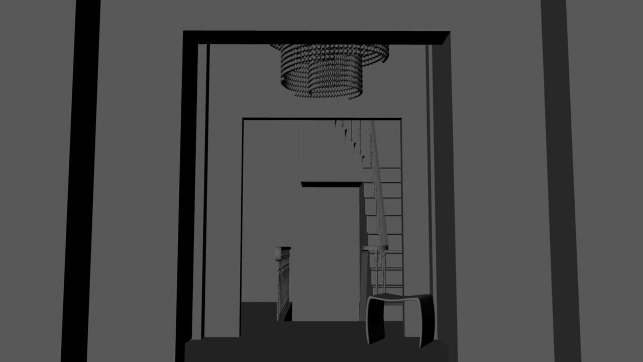 Sasha lacroix maison virtuelle int rieur hall d 39 entr e - Hall d entree maison photos ...