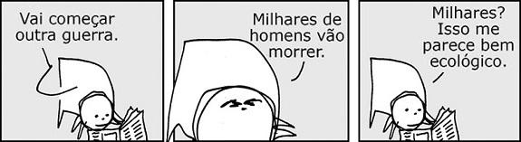 André Dahmer / Malvados: Guerra Ecológico.
