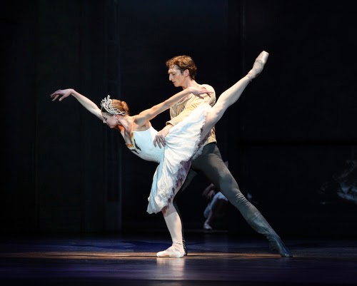 Zachary Hench and Lauren Fadeley in Christopher Wheeldon's Swan Lake