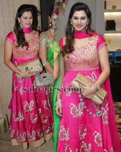 Vandana Bridal Silk Salwar