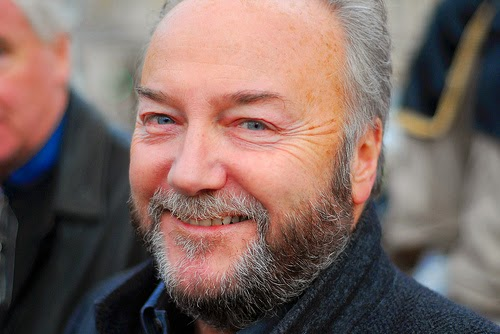 George Galloway. (Photo by David Martyn Hunt)