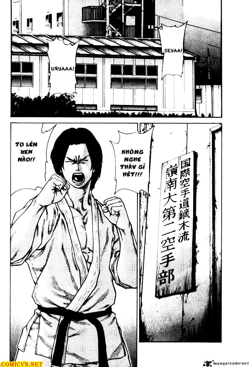 Karate Shoukoushi Kohinata Minoru chap 9 Trang 10