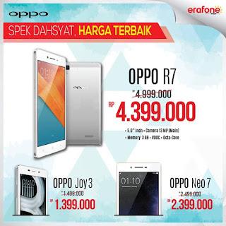 Harga OPPO Smartphone Terbaru di Erafone