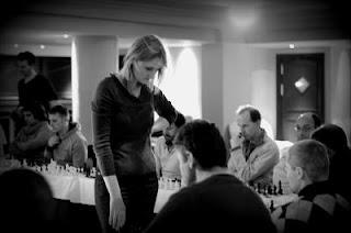 Échecs : Viktorija Cmilyte - Photo © Tradewise Gibraltar Chess