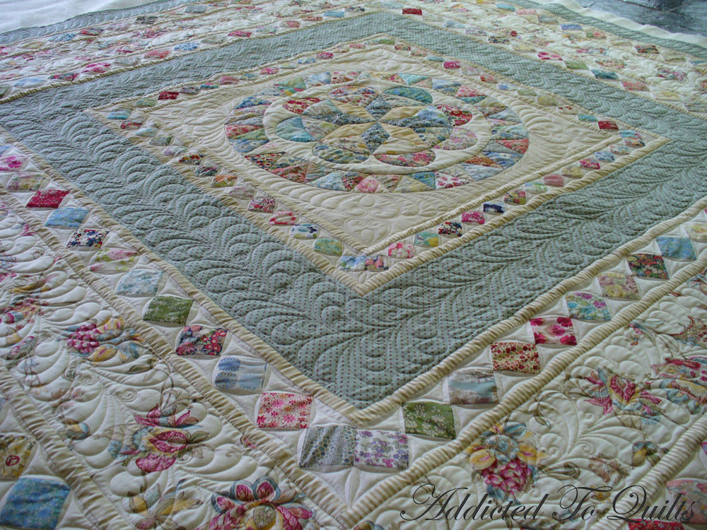 Addicted To Quilts: Medallion Quilt in Liberty Fabrics : medallion quilt pattern - Adamdwight.com