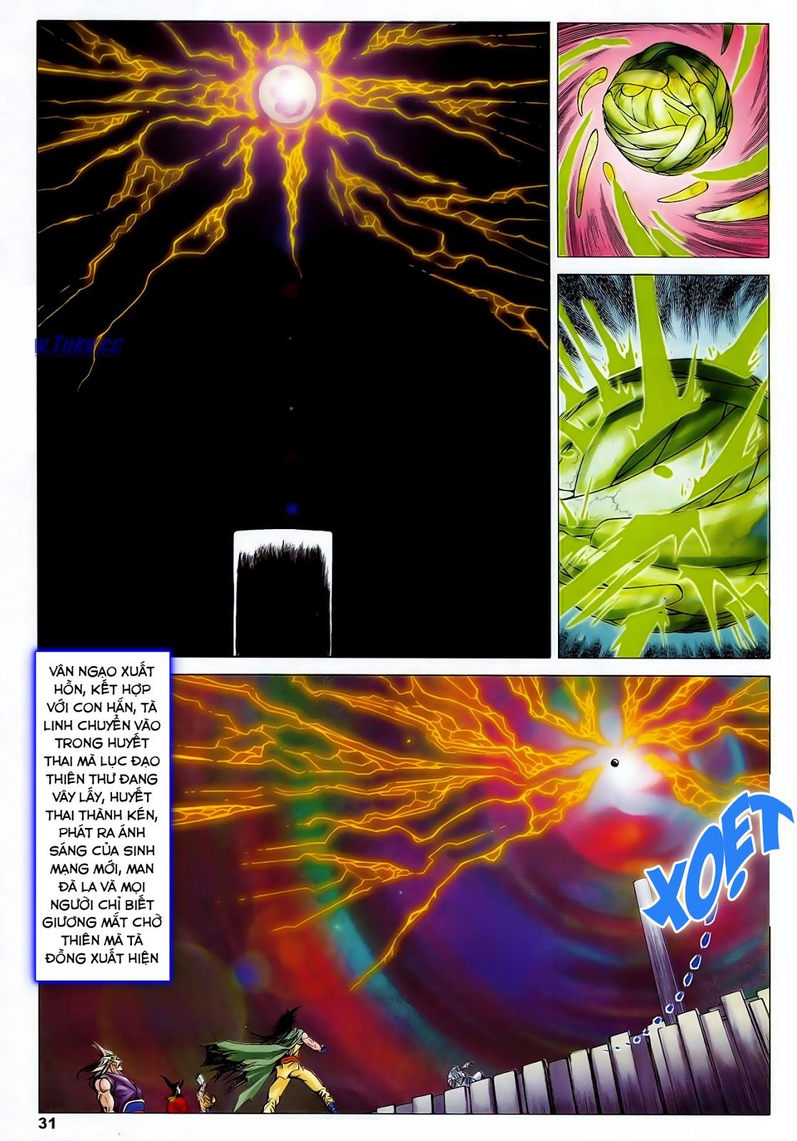 Lục Đạo Thiên Thư chap 47 - Trang 33