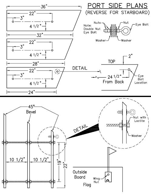 Rockfish Planer Board Plans
