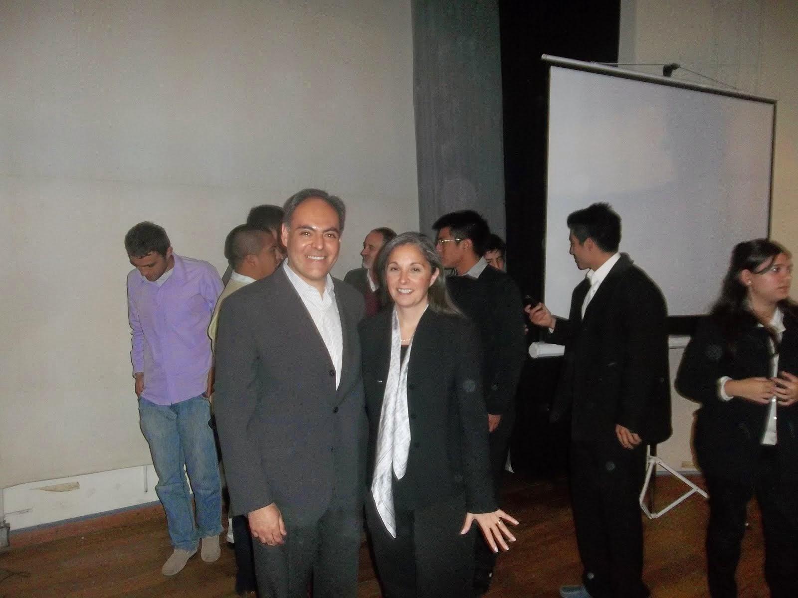 Con Gabriela Ippolito O'Donnell