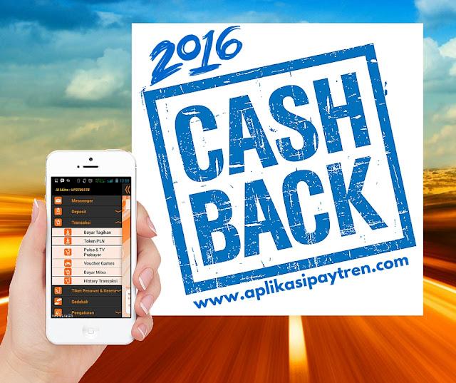 Tabel Cashback Paytren 2016