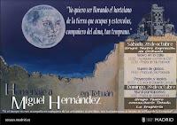Homenaje a Miguel Hernández en Tetuán