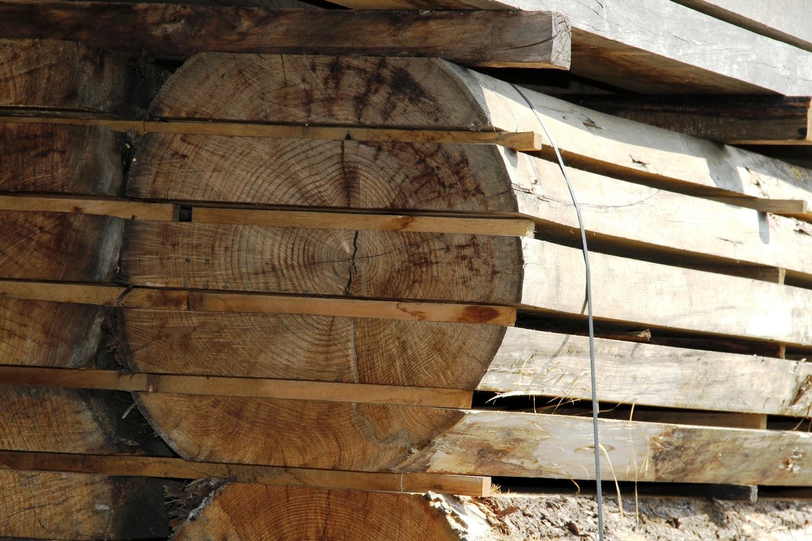 Costruiamo i mobili il taglio del tronco in tavole - Vendita tavole di legno ...