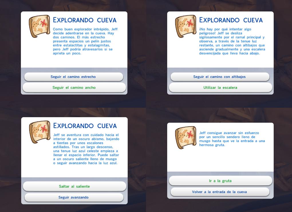 """Guía Sims 4: Desbloquear La """"Gruta Olvidada"""" y El """"Claro Silvestre"""" Camino%2Ba%2Bla%2Bcueva"""