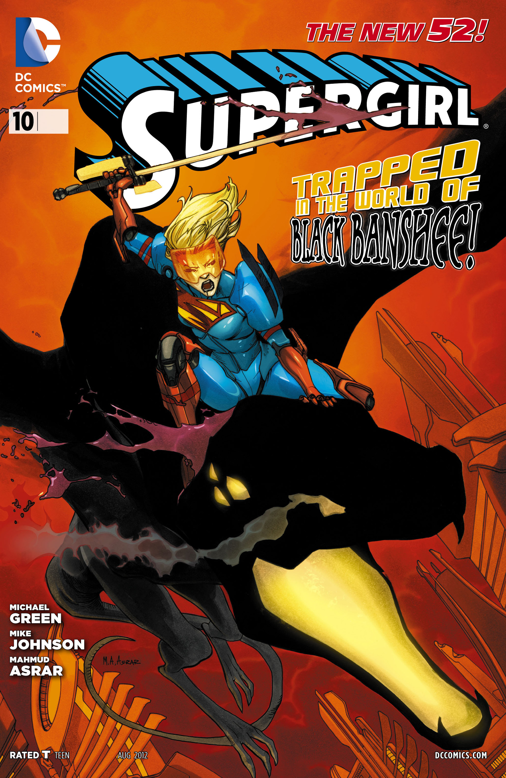Supergirl (2011) Issue #10 #12 - English 1