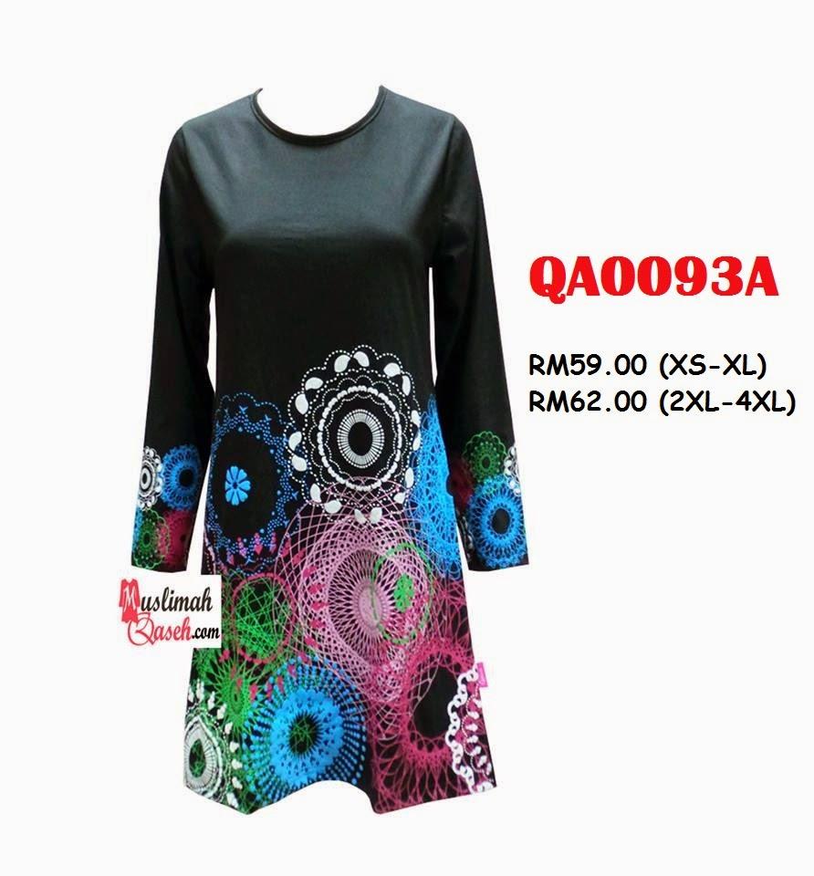 T-Shirt-Muslimah-Qaseh-QA0093A