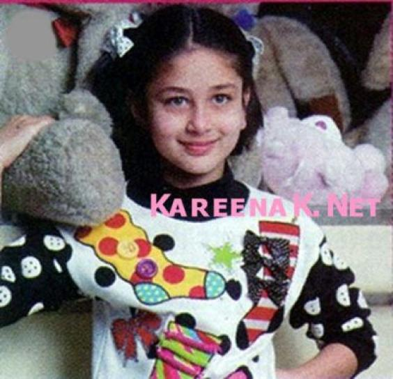 karariaan kareena kapoor childhood pictures n biography