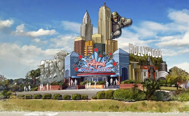 Visitors To Myrtle Beach South Carolina Have An All New Attraction Add Their Vacation Itinerary Now That The Hollywood Wax Museum Has Officially