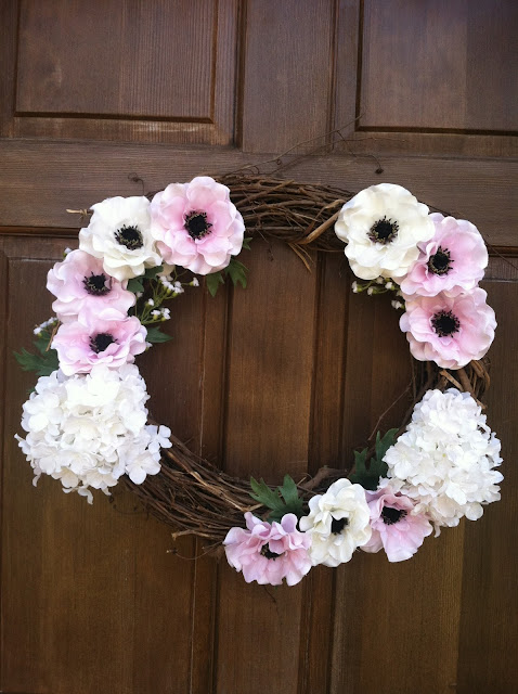 DIY: Spring Wreath on Darling Cashmere