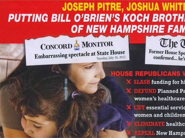 Joe Pitre, Joshua Whitehouse Put Koch Agenda Above NH Families