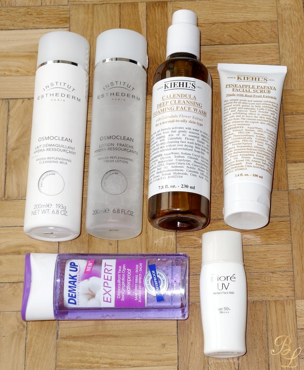 routine soin visage peau mixte