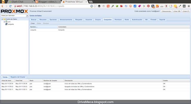 DriveMeca instalando y configurando ProxmoxVE paso a paso