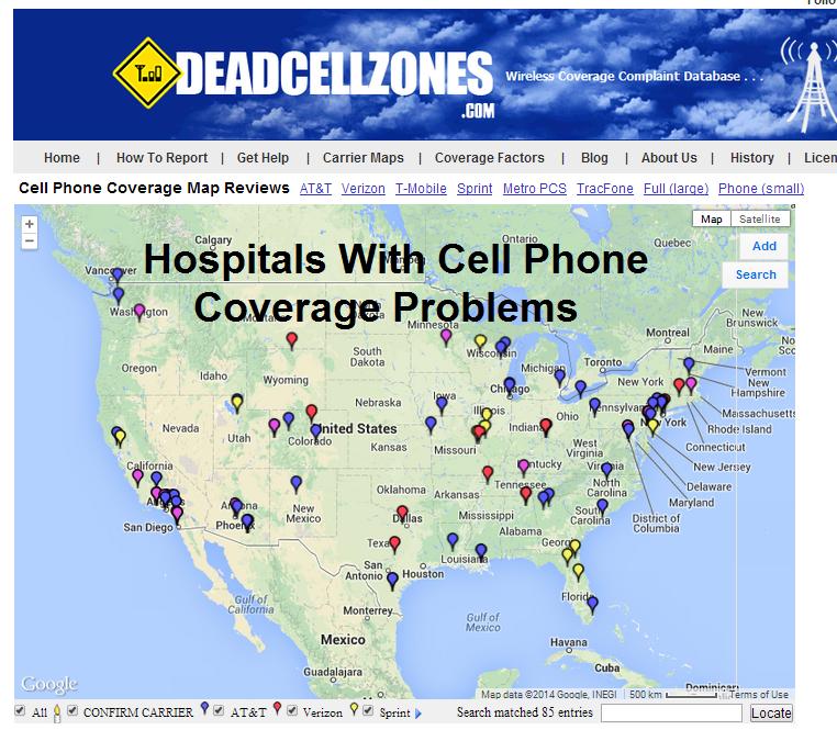 Cordless Phones Jitterbug Phones Hearing Impaired Phones - Jitterbug coverage map