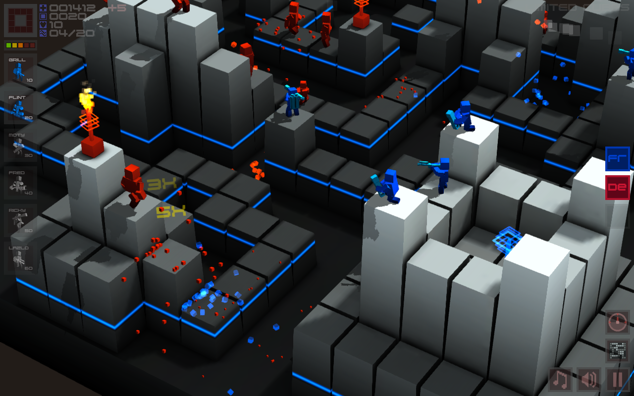 Multiplayer Tower Defense Game 'Cubemen' Comes to Ubuntu Software Center