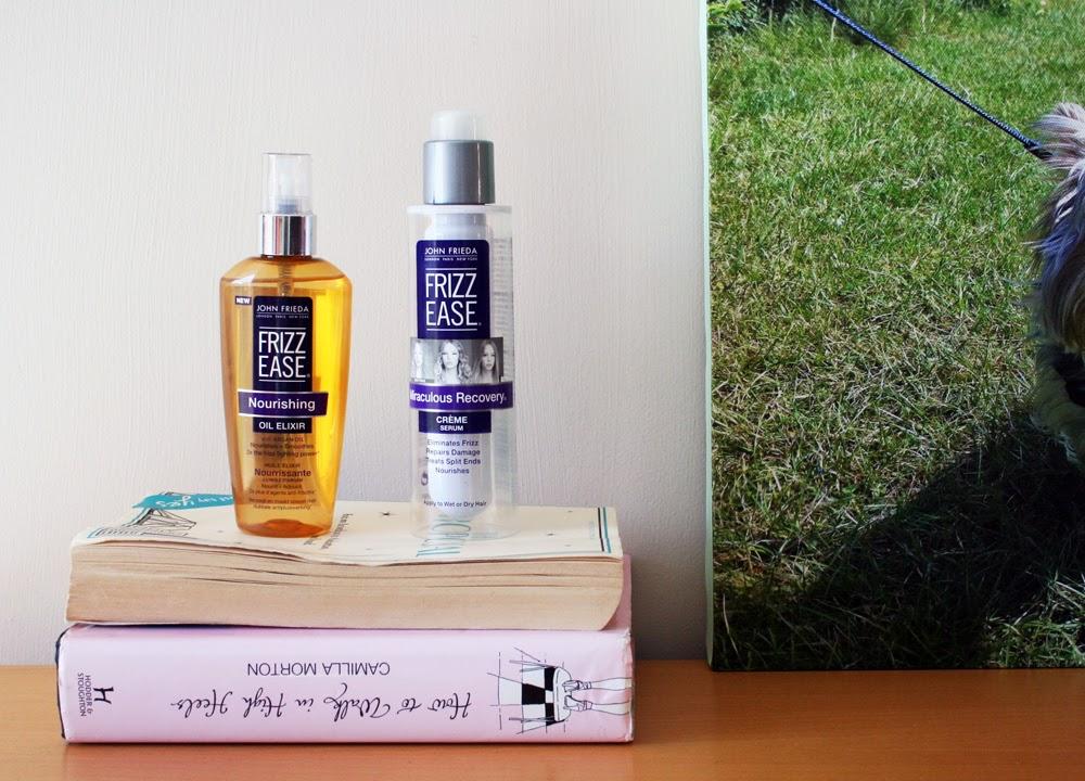 John Frieda Frizz Ease Oil Elixir and Crème Serum